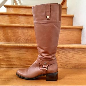 Bandolino Brown Leather Riding Boots 5.5